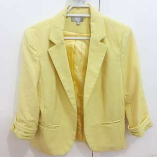 SES Yellow Blaiser