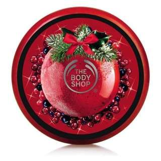 The Body Shop Frosted Berries body cream