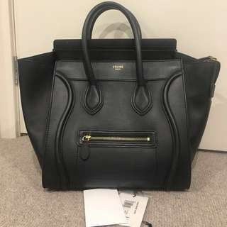 Celine Mini Navy Blue