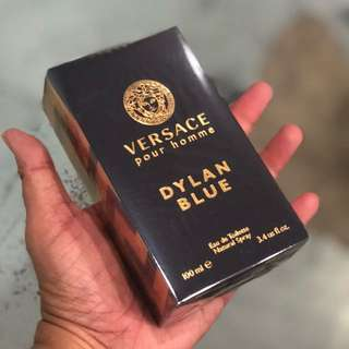 Authentic Versace Dylan Blue Perfume 100ml. Limited Stock First Come First Served 😎👍