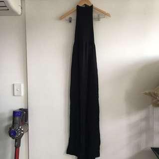 Boho halter neck maxi dress
