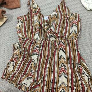 Playsuit tribal