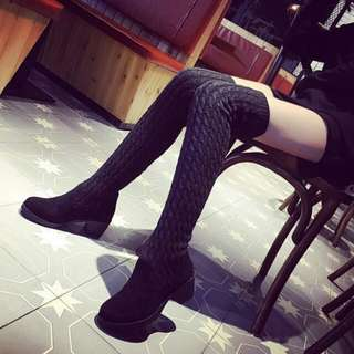 High knee boots size 38 import
