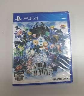 World of Final Fantasy PS4 (SEALED)