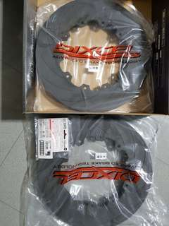 Dixcel FCR 380mm Brake Disc Rotor Front F/R