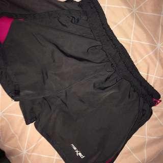 Maxed running shorts