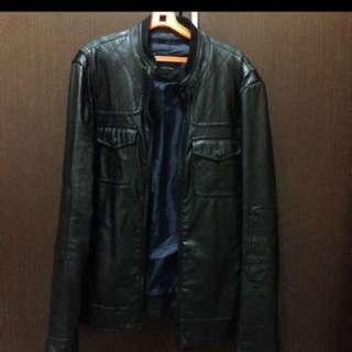 jaket zara original leather
