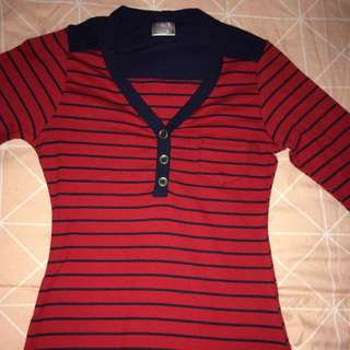 Identity long sleeve top size 26(small)