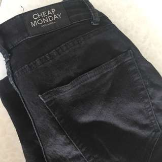 Cheap Monday skinny jeans (mid rise)