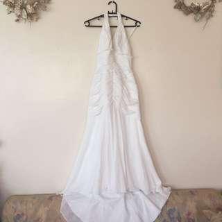 Halter Serpentina gown