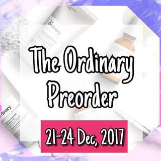 The Ordinary Preorder #3