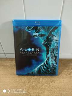 Alien Quadrilogy - Blu Ray - US import (original)