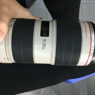 Canon 70-200mm f2.8L Is ii image stabilization new arive