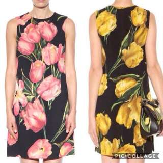 DG INSPIRED 3D FLORAL DRESS