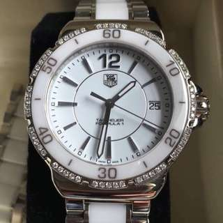 Tag Heuer Ladies Diamond Watch