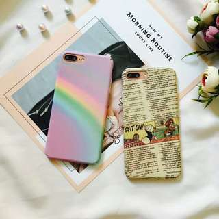 Rainbow Soft Shell Phone Case - iPhone 6/7/8/X