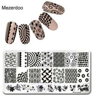 MEZERDOO STAMPING PLATE