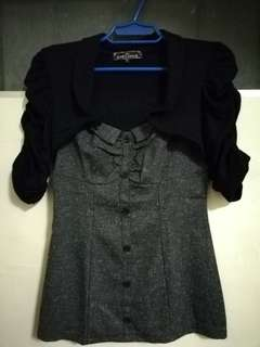 CLASSY (CASUAL/FORMAL) TOP