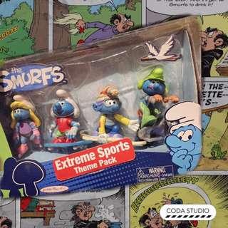 🚚 The Smurfs 藍色小精靈 極限運動組