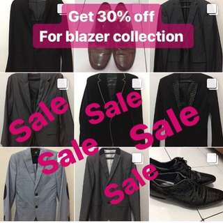 BRANDED BLAZER ALL 30% off