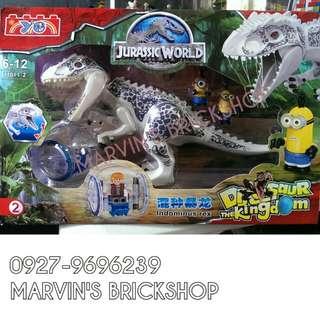 For Sale Jurassic Big White TRex (Idominus Rex) Building Blocks Toy