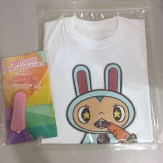 OFFICIAL SMTOWN TEE & LIGHT STICK