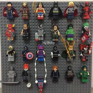 75php each Minifigs