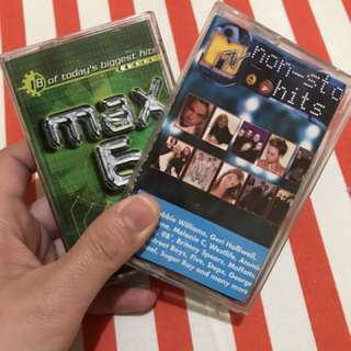 Nostalgic MTV Non-Stop Hits and Max 6 (Buy 1 Get 1)