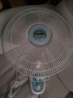Imarflex14寸掛牆風扇二手九成新已清潔
