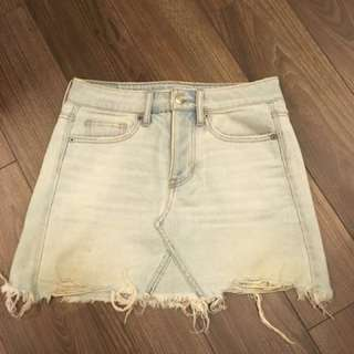 American eagle skirt size 00