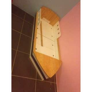 kid's ship bedframe