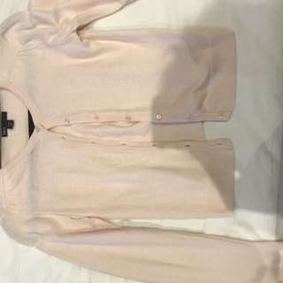Girls GAP light pink cardigan