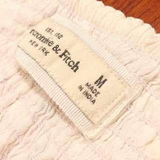 🚚 Abercrombie & Fitch 白色小洋裝