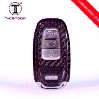 Genuine T-Carbon™ 100% Carbon Fiber Key case / Key Fob / Key protector (Honda / Audi / Mercede Benz / Mazda / BMW / Nissan / Qashqai / Volkswagen / Porsche / GTR / Subaru / Lexus / Land Rover) Ready In Stock