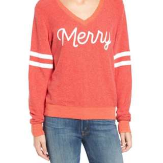 New with tags Wildfox Merry Sweater - XS - holiday christmas