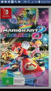 Mario cart 8 for  Nintendo switch
