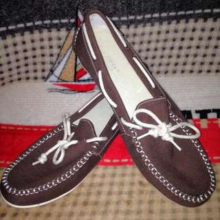 Cole Haan Boat Shoes Soft Cloth