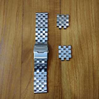 Stainless Steel Engineer Bracelet 22 mm