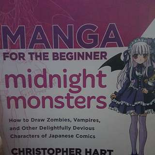 Manga for the Beginner Midnight Monsters by Christopher Hart