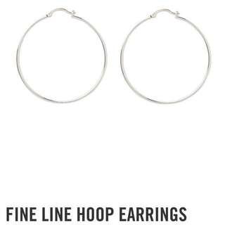 BNWT Sportsgirl hoop earrings