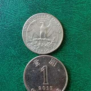 美国币, 1981年