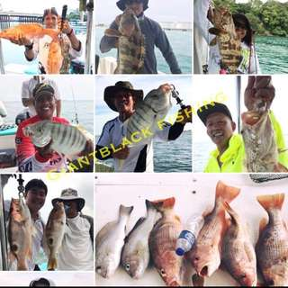 FISHING CHARTER / COMFORTABLE BOAT with toilet! Pic of latest catch!! Book slot nw .HURRY