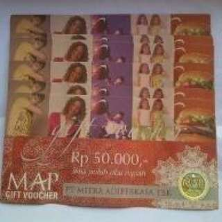 Voucher MAP 500rb