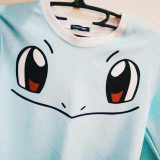 Pokemon Longsleeves Crop Top (Pushthru)
