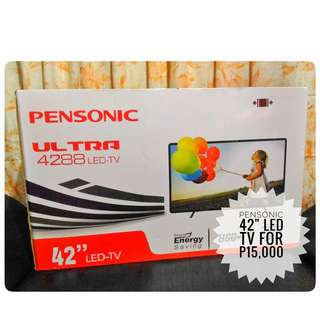 "💥REPRICED! 42"" Inches Pensonic LED Television"