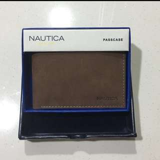 NEW Nautica Genuine Leather Wallet