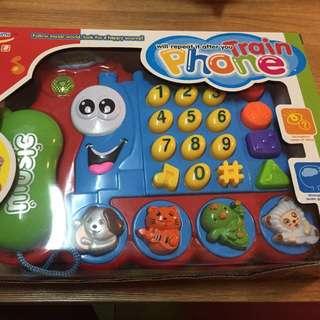 可愛卡通電話機 全新