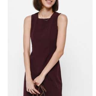 BNWT Love Bonito Adoette Scallop Hem Dress (S)