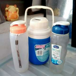 Water bottles!