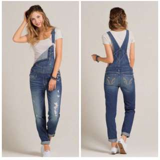 98% new Hollister Co Denim Overall